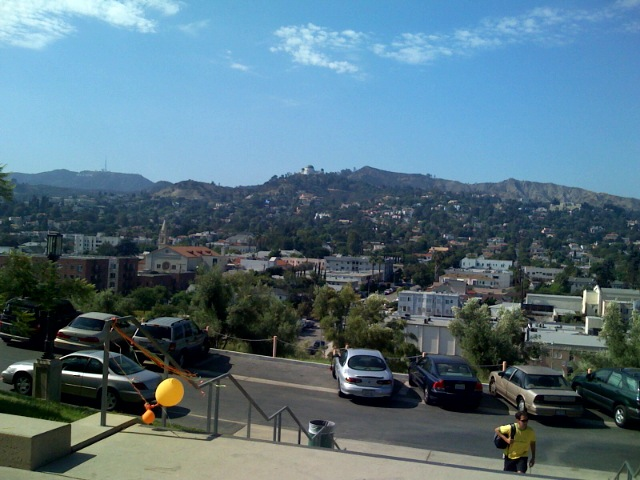 The View From Barnsdall Art Park