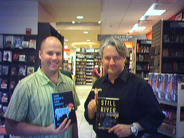 Me and Harry at Borders on McKinney